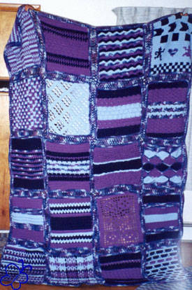 Crochet Stitches Sampler : crochet, my first large projects were afghan crochet sampler patterns ...