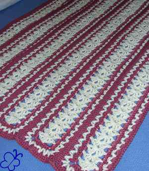 Crochet Patterns Mile A Minute : mile a minute crochet afghan pattern