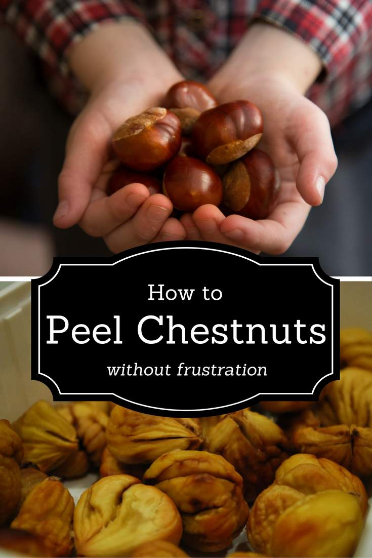 How to Peel Chestnuts without frustration