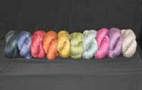 colorful lace weight yarn