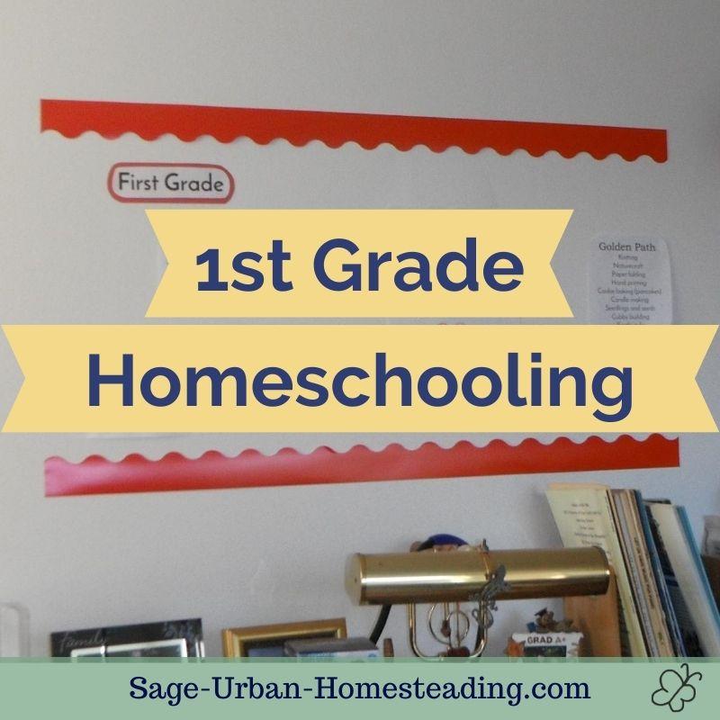 1st grade homeschooling
