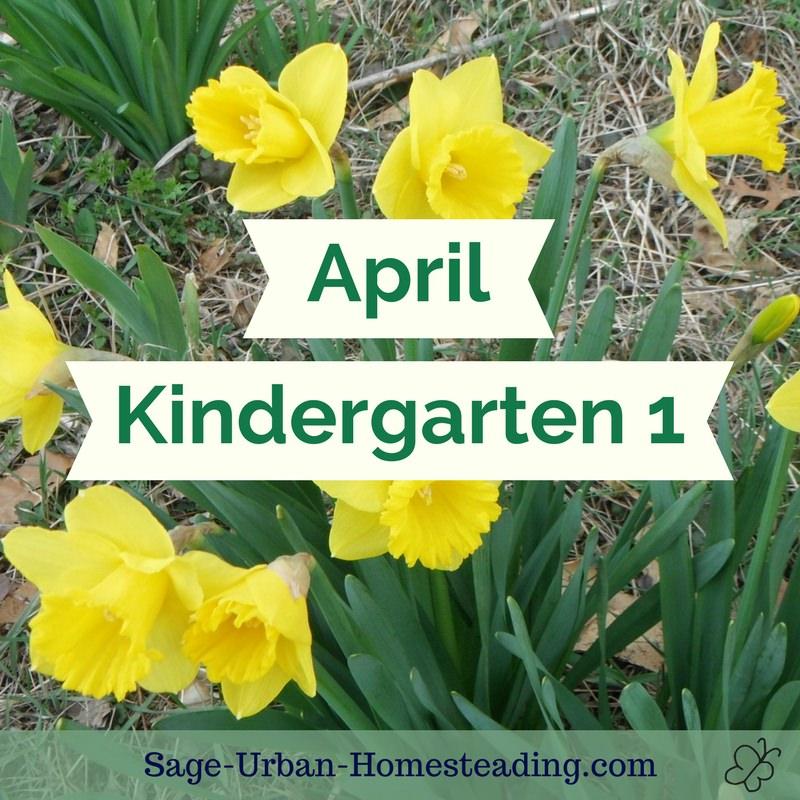 April kindergarten 1