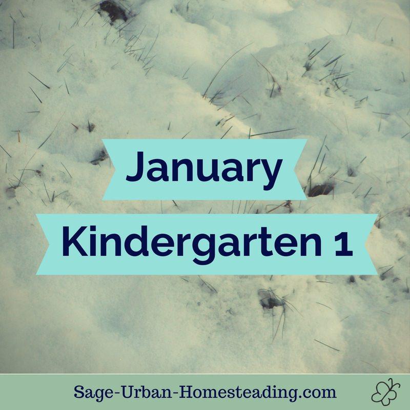 January kindergarten 1