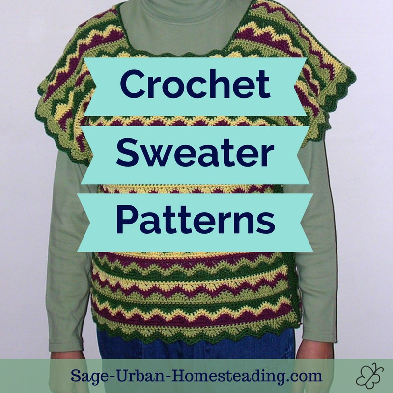 crochet sweater patterns
