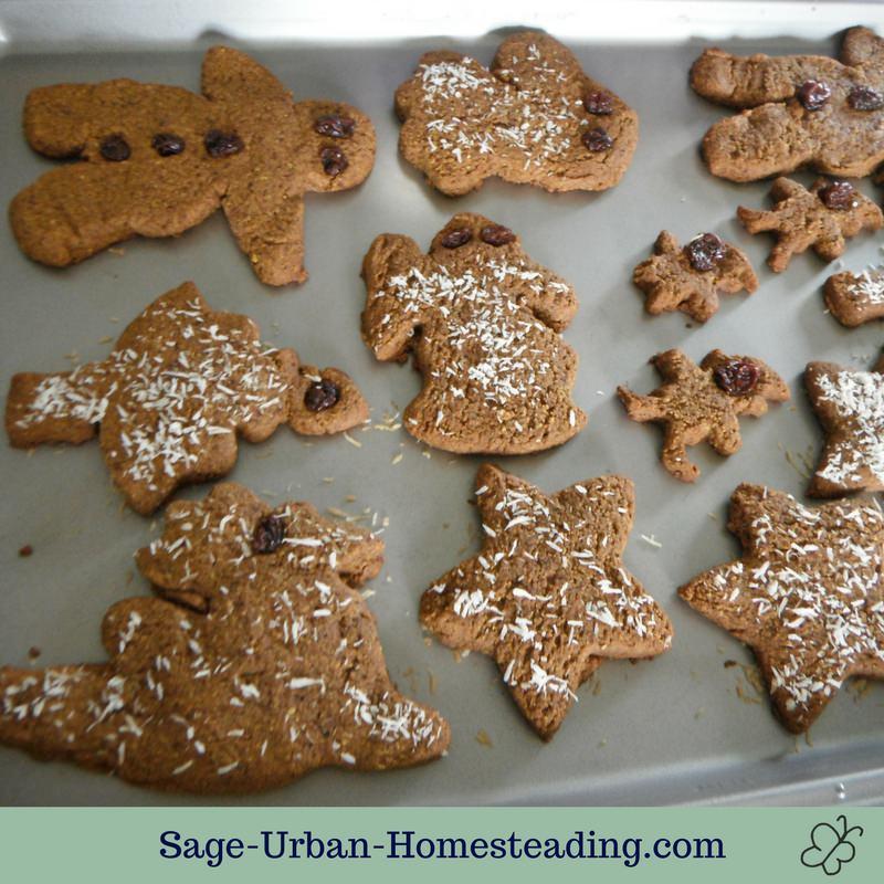 baked gluten free gingerbread cookies