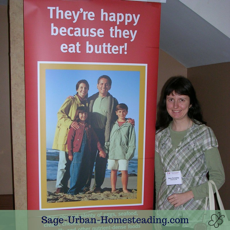 happy because they eat butter