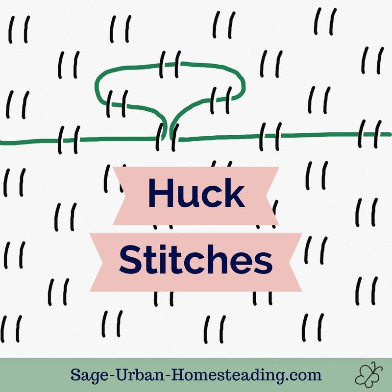 huck stitches