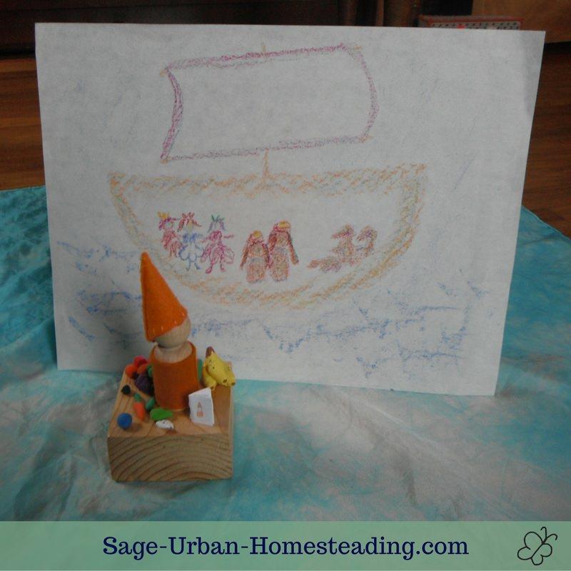 illustration showing inside a ship