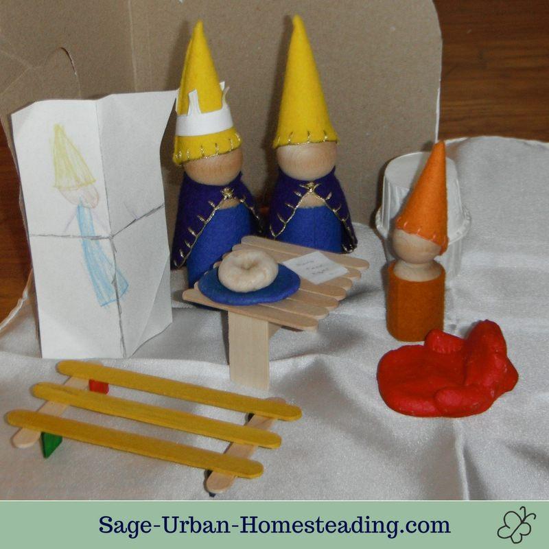 3 kings visit mushroom house