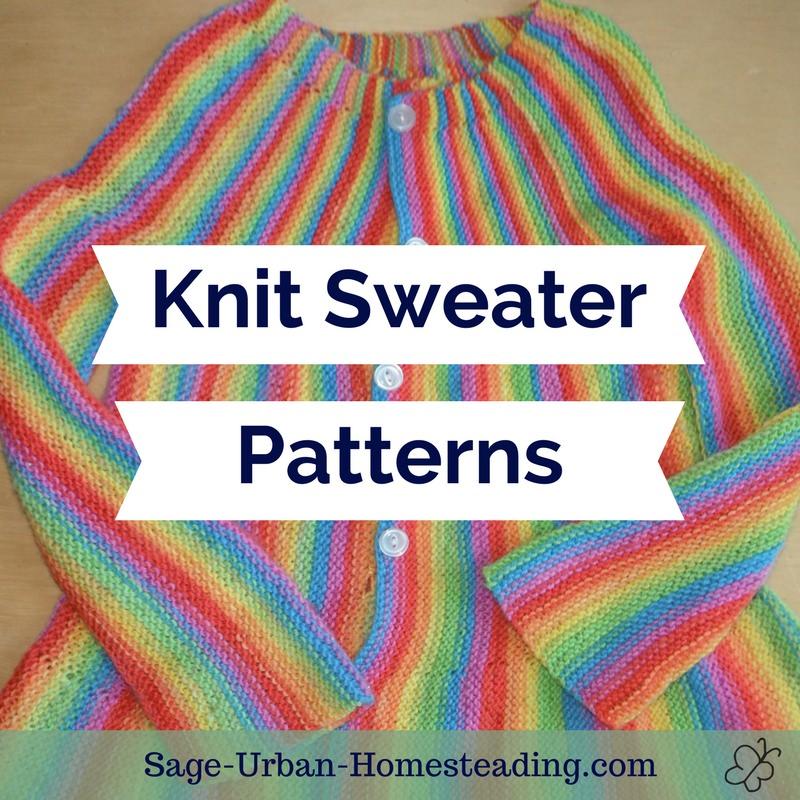 knit sweater patterns