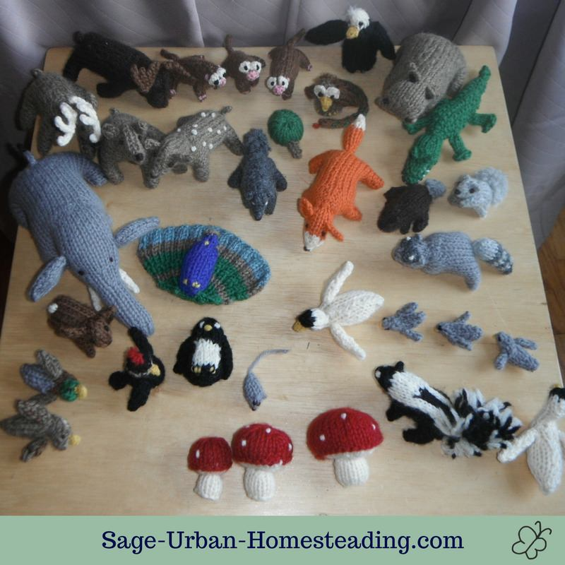 knit animals