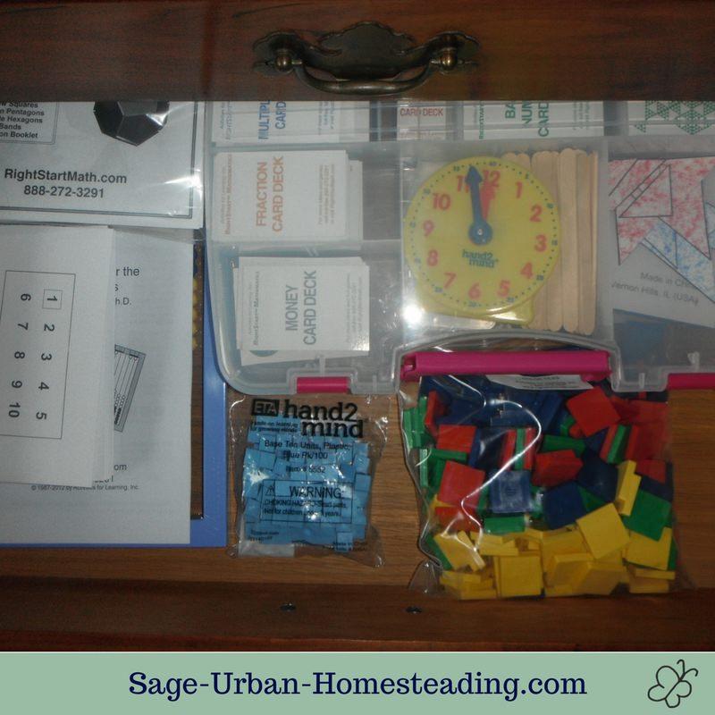 math drawer