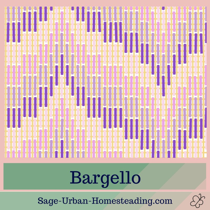 needlepoint canvas bargello