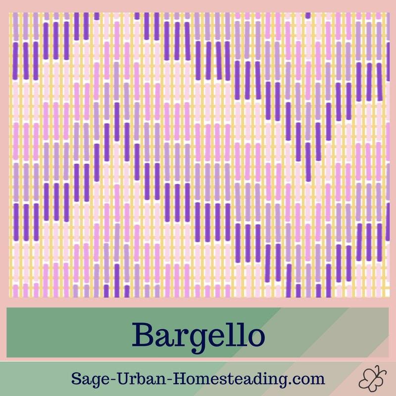 needlepoint canvas bargello