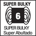 weight 6, super bulky
