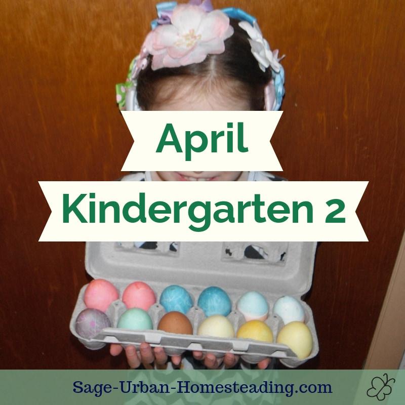 April kindergarten 2