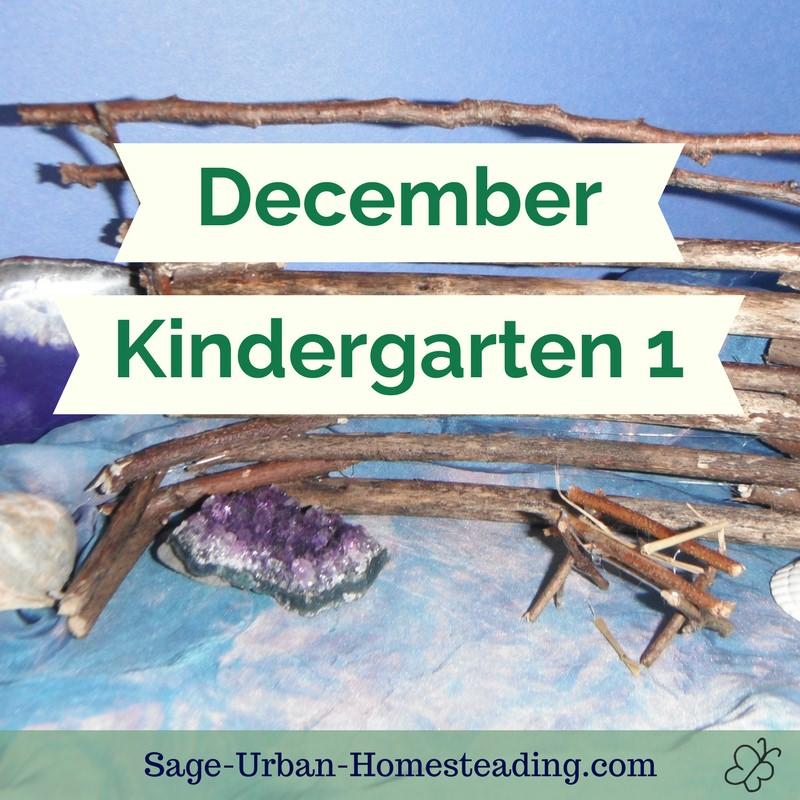 December kindergarten 1