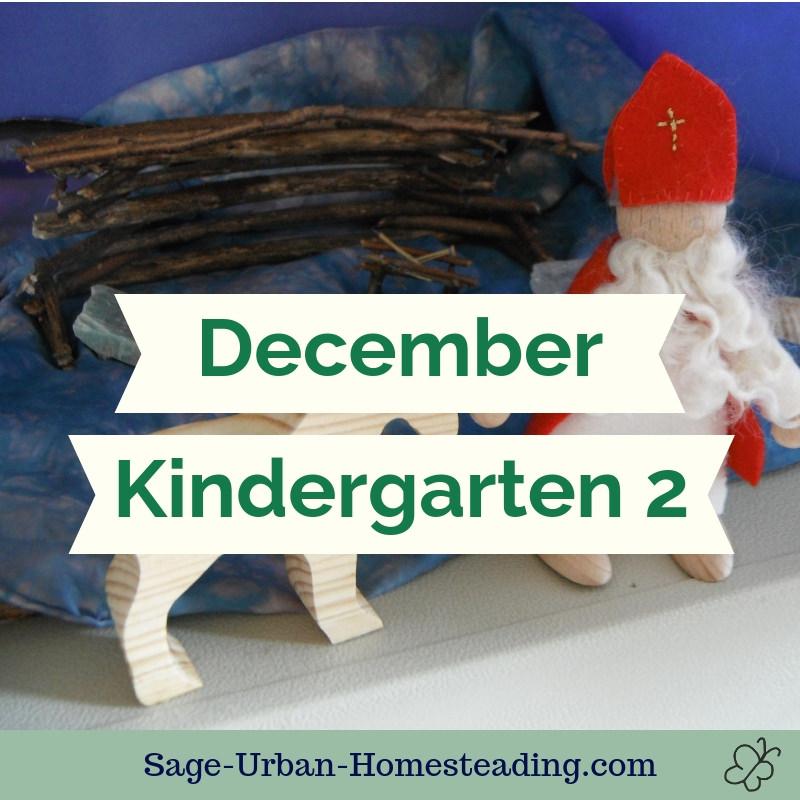 December kindergarten 2