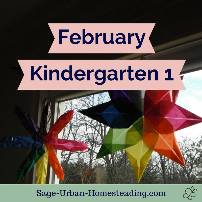 February kindergarten 1