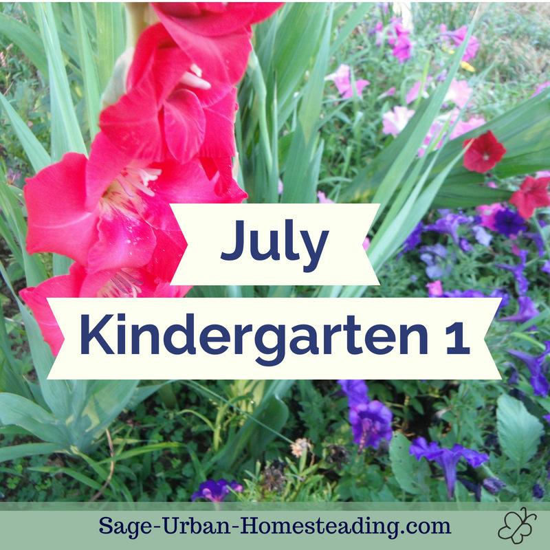 July kindergarten 1