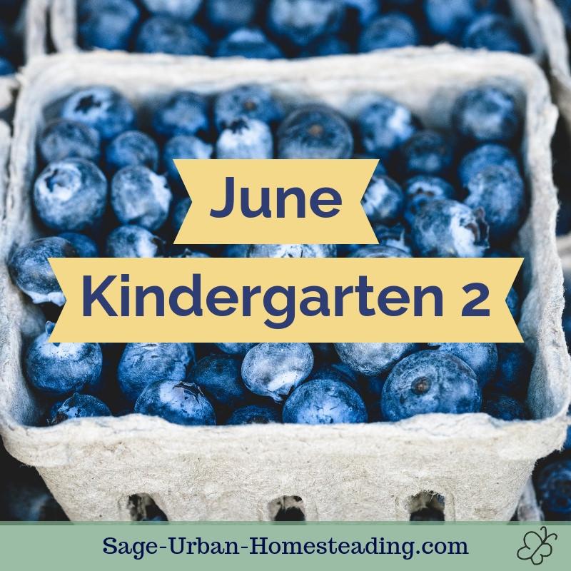 June kindergarten 2