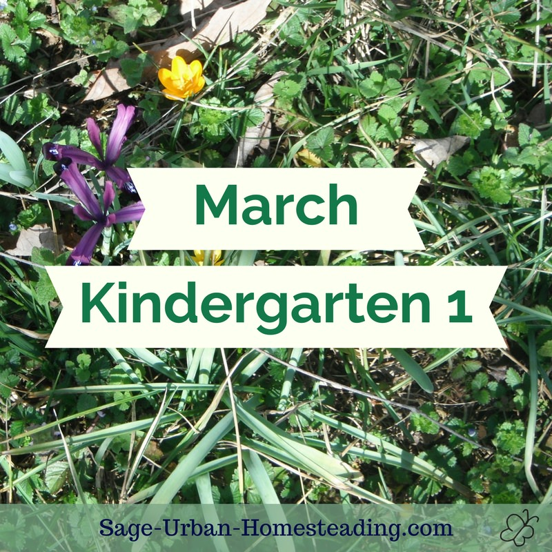 March kindergarten 1