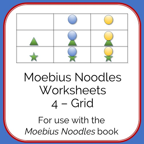 Moebius Noodles Math Worksheets 4 - Grid