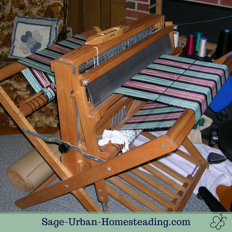 Baby Wolf weaving loom
