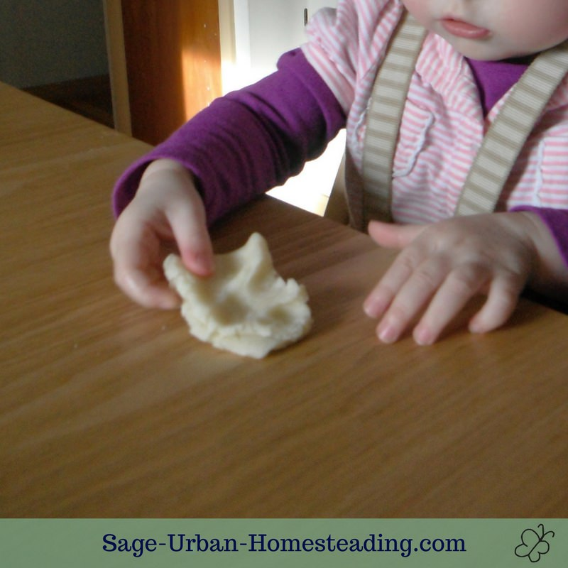 basic homemade playdough