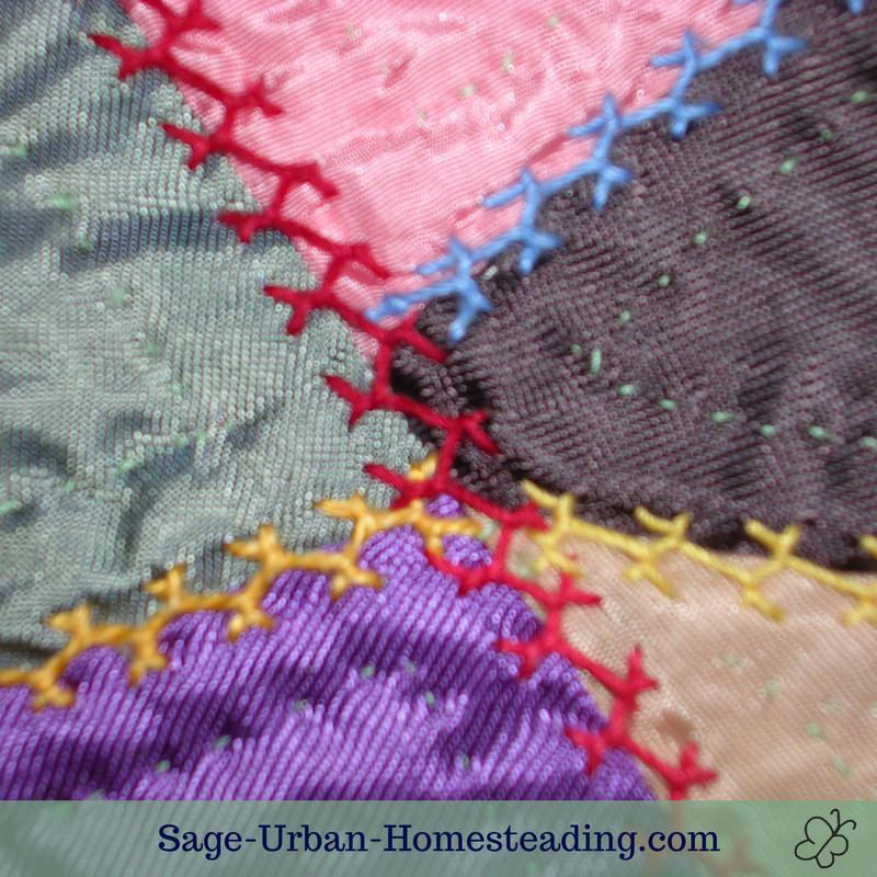 Crazy Quilt Embroidery For Crazy Quilting