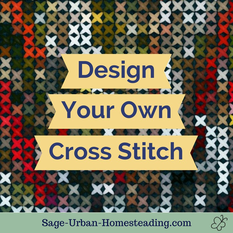 design your own cross stitch