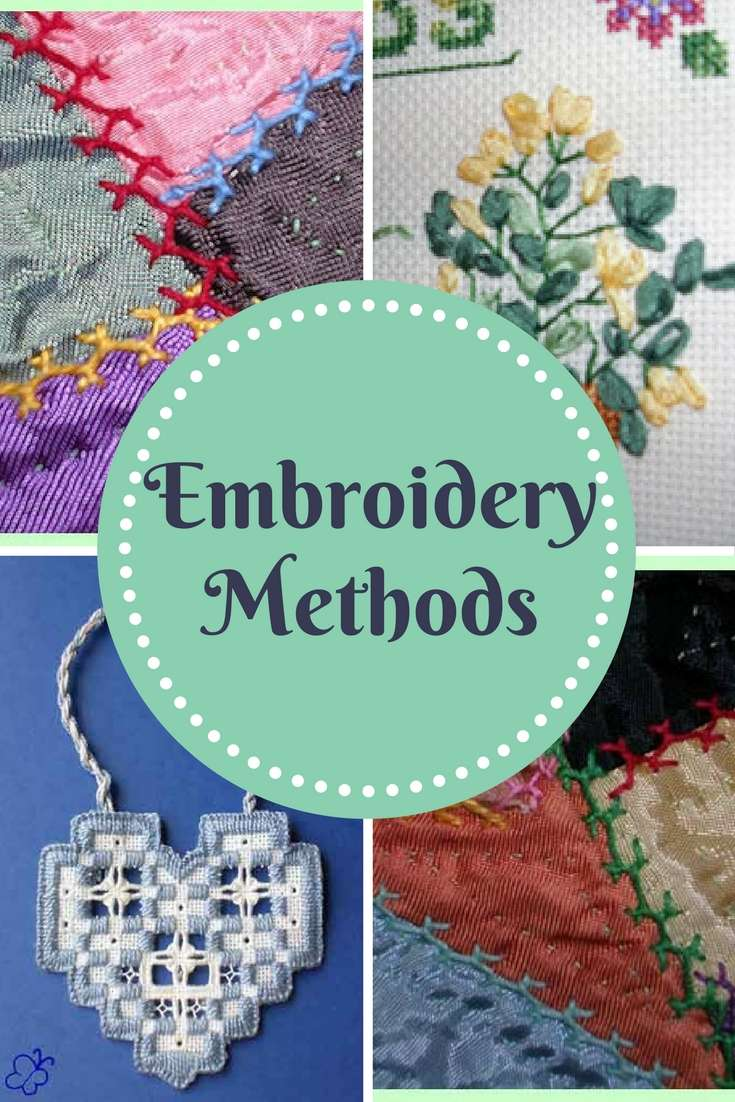embroidery methods