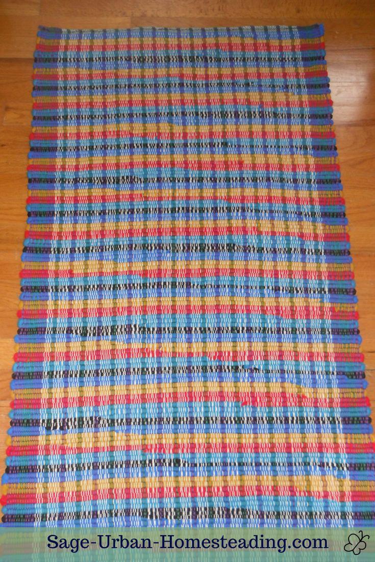 fleece rag rug