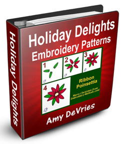 Holiday Embroidery Patterns Ebook