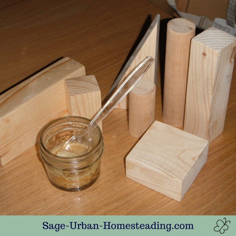 homemade building blocks