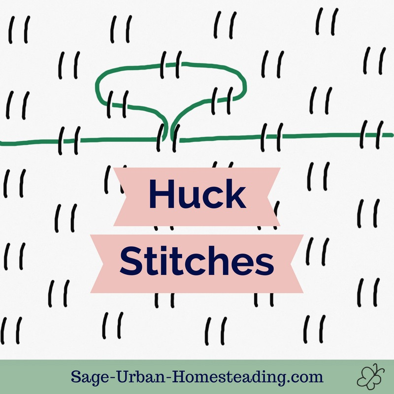 huck stitches