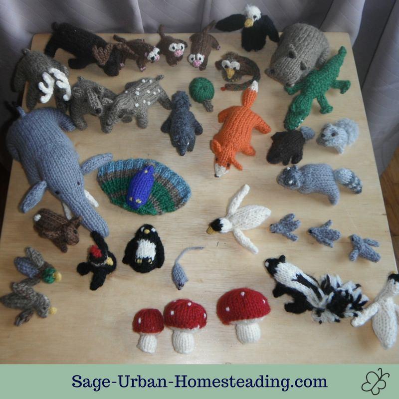knit animals