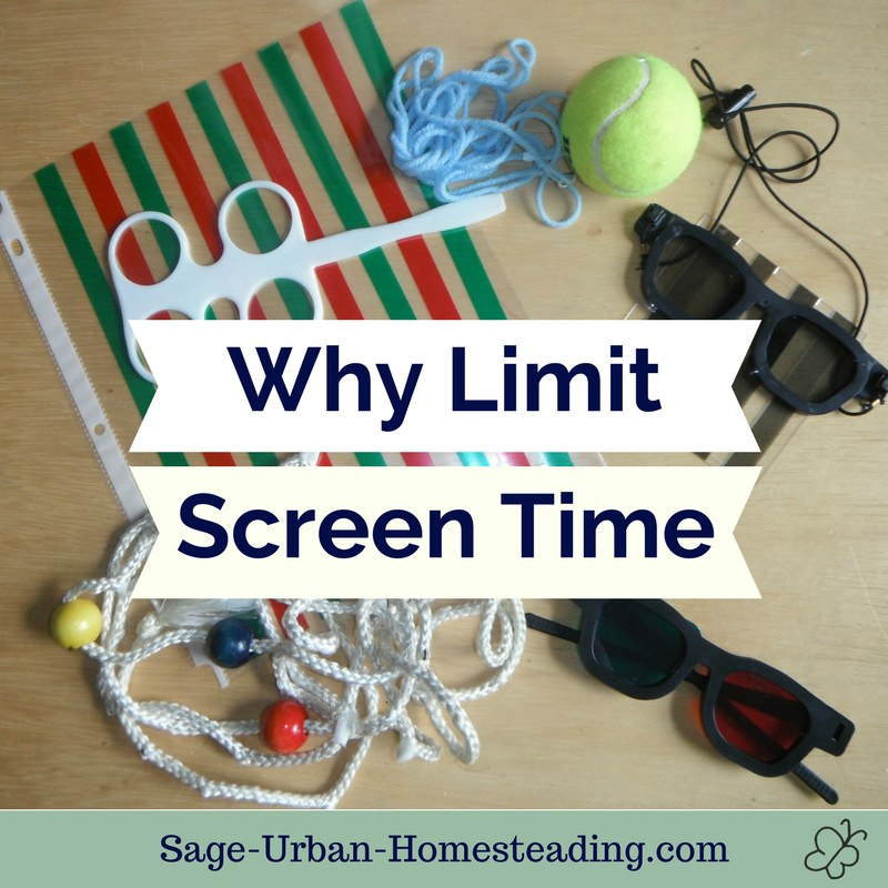 why limit screen time