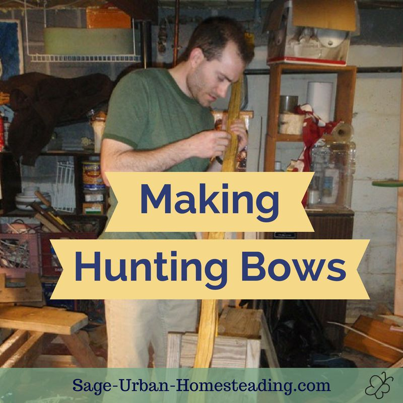 making hunting bows