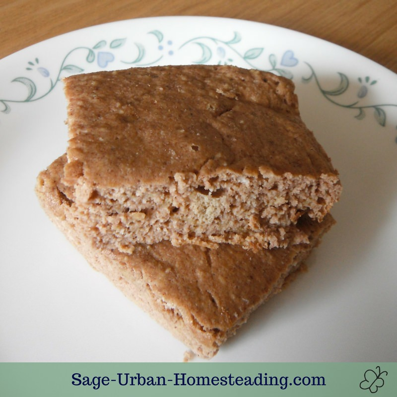 paleo pumpkin bread bars