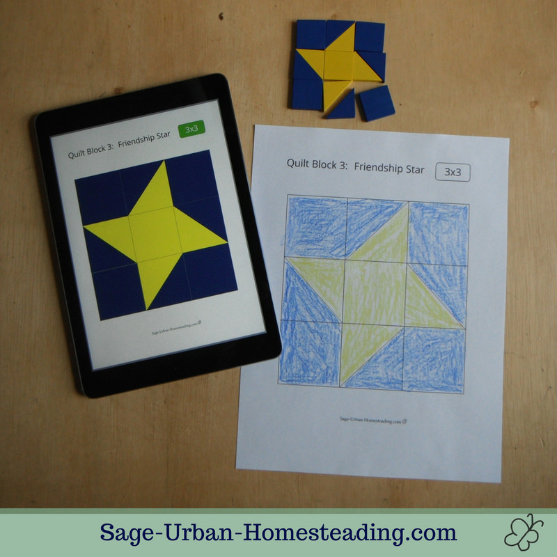 quilt pattern blocks and coloring