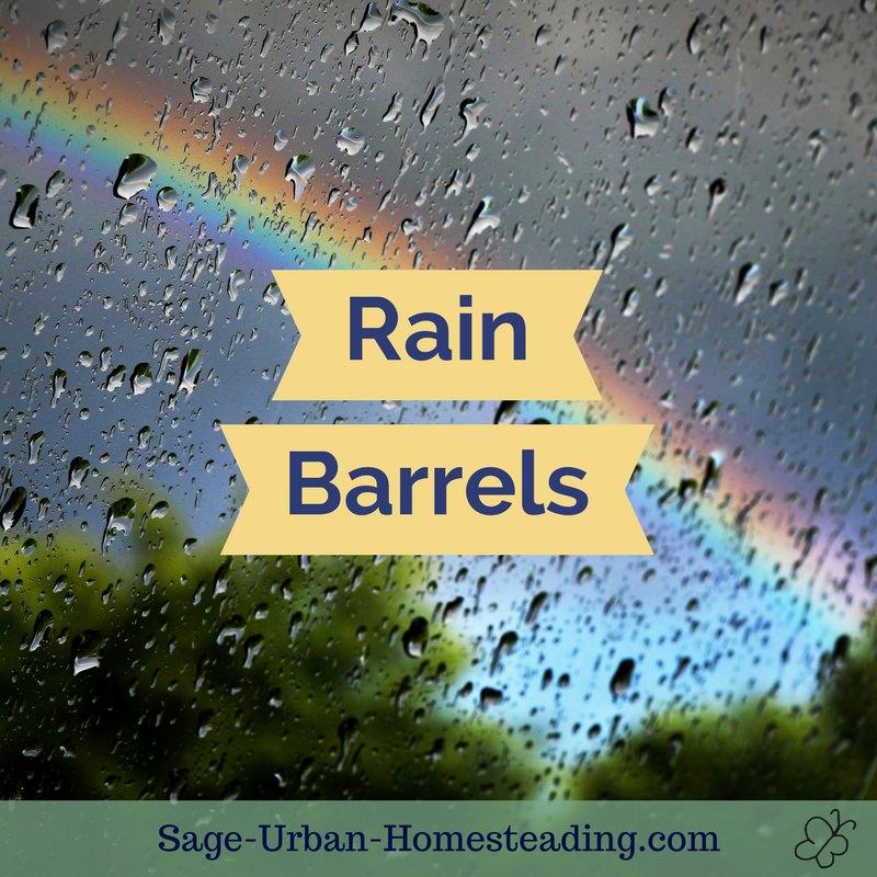 rain barrels how to set them up