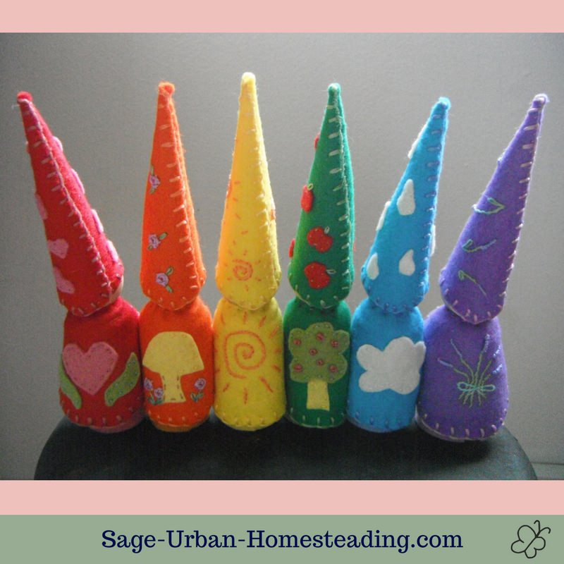 rainbow gnome capes