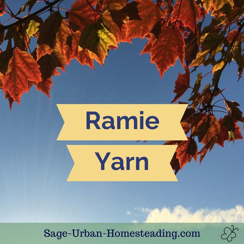 ramie yarn