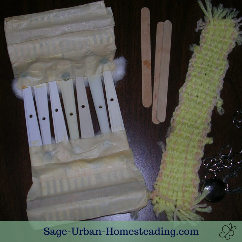 rigid heddle fork loom