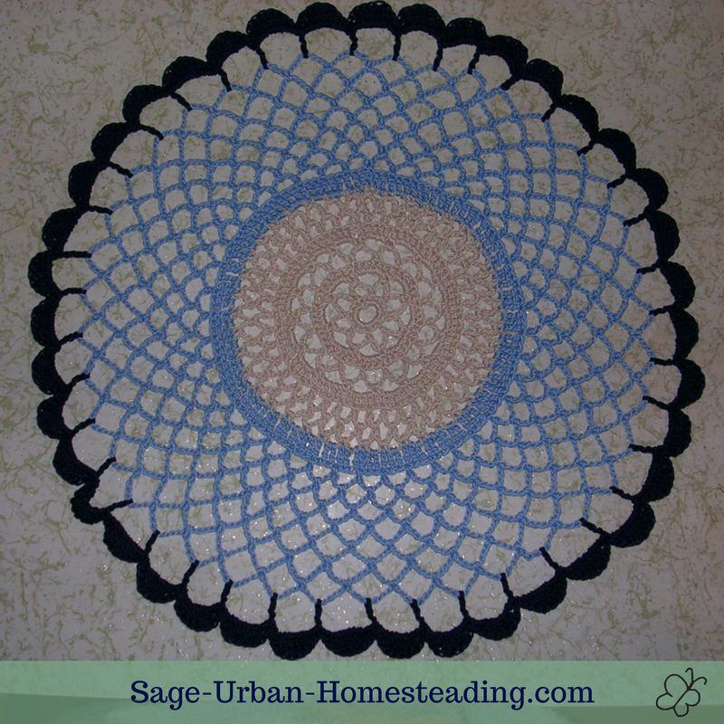 Crochet Doily Patterns And Blocking