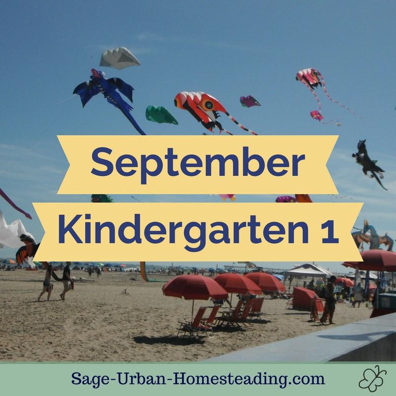 September kindergarten 1