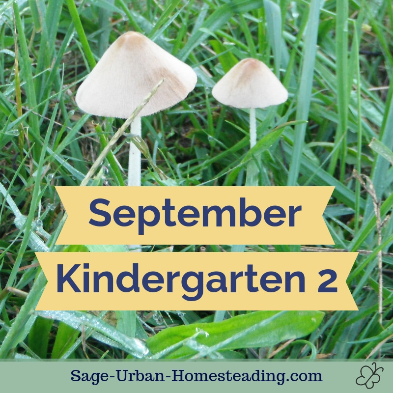 September kindergarten 2