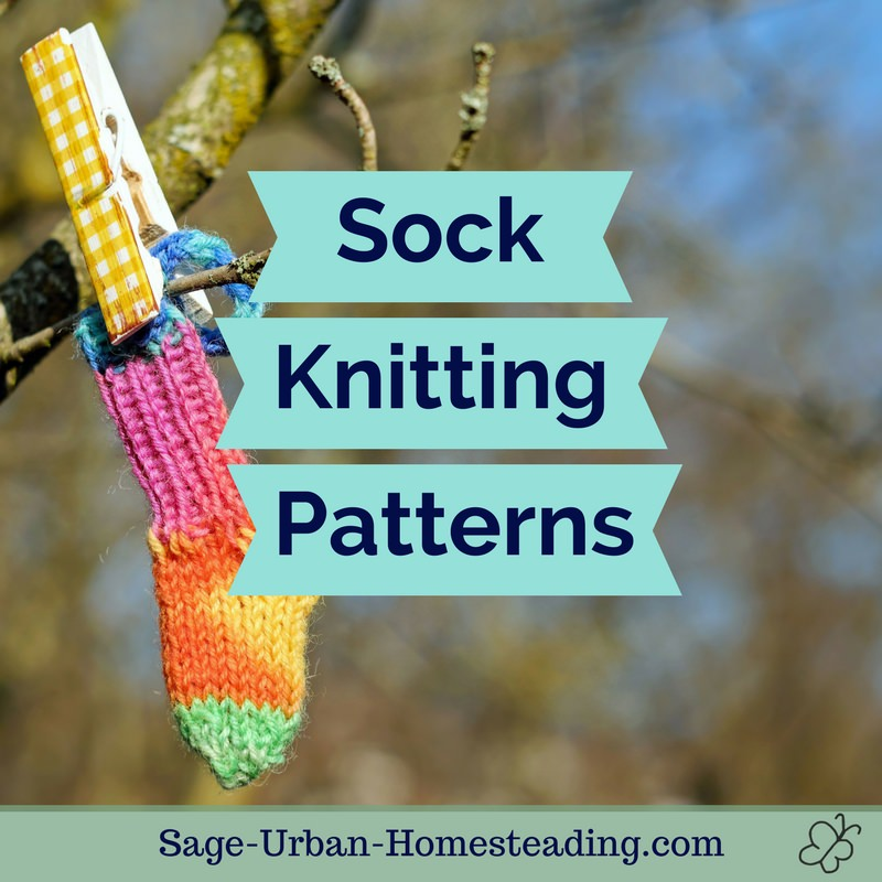sock knitting patterns