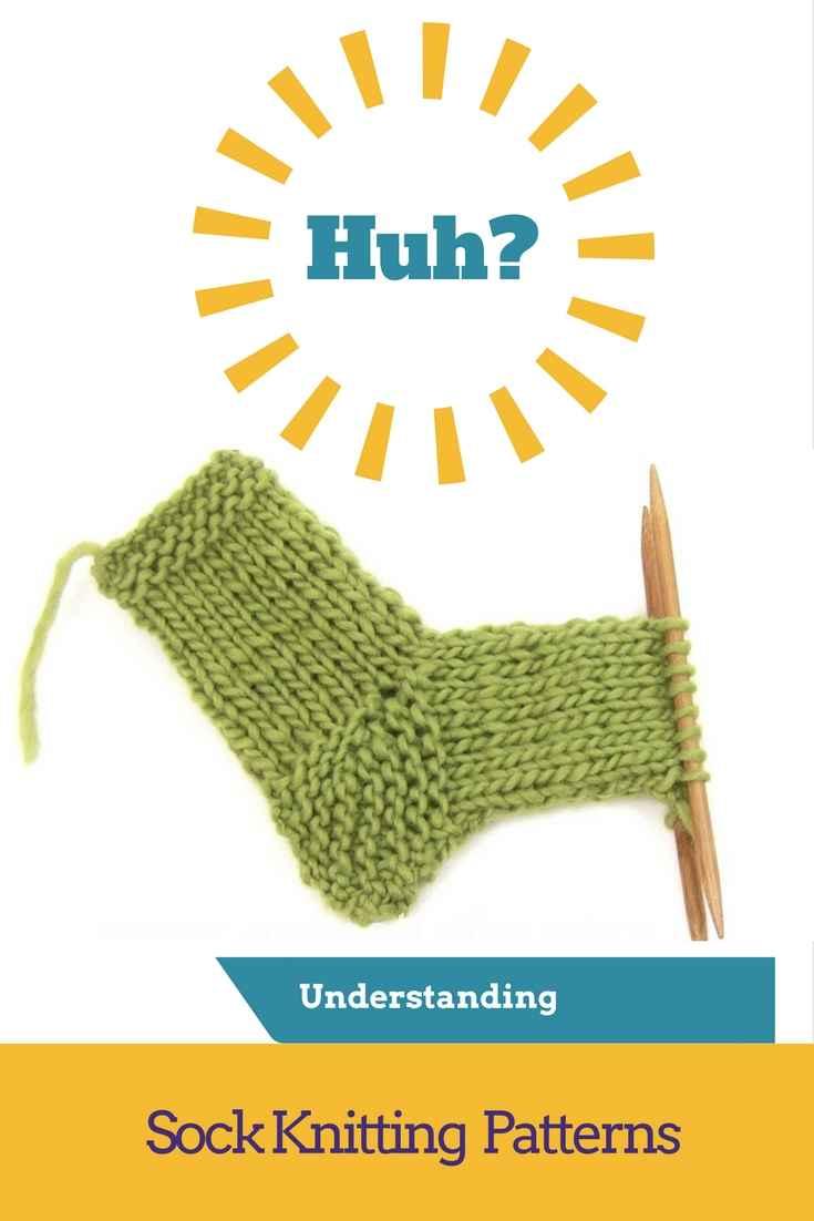 understanding sock knitting patterns